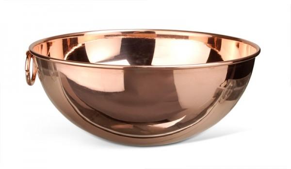 Rührschüssel/ Schlagschüssel 24cm, Kupfer