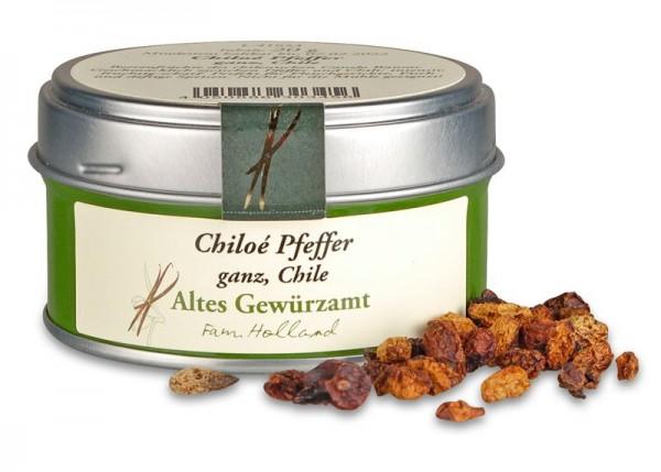 Chiloé Pfeffer, ganz