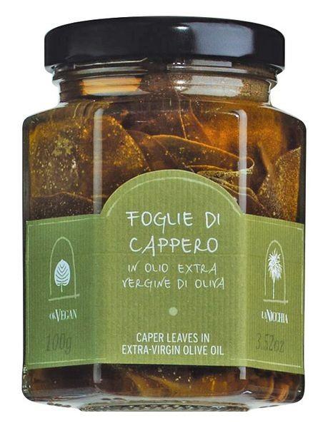 Kapernblätter in nativem Olivenöl extra