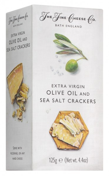Extra Virgin Olive Oil and Sea Salt Crackers