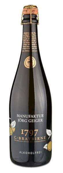 Champagner-Bratbirne - Frei von Alkohol