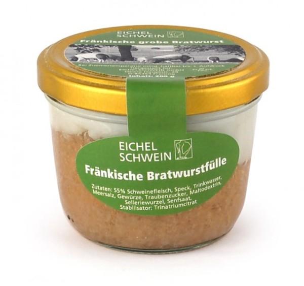 Fränkische Bratwurst vom Eichelschwein