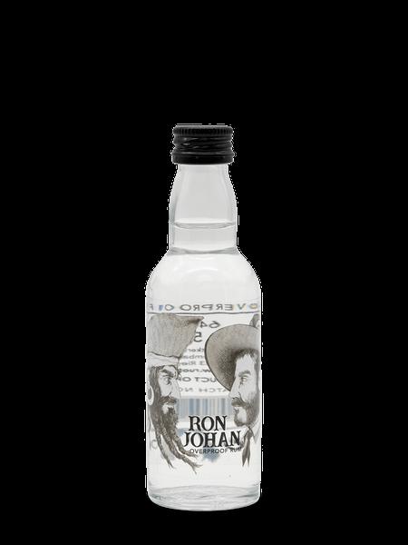 Ron Johan Overproof Rum Miniatur