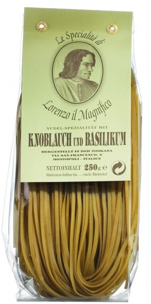 Linguine mit Knoblauch & Basilikum