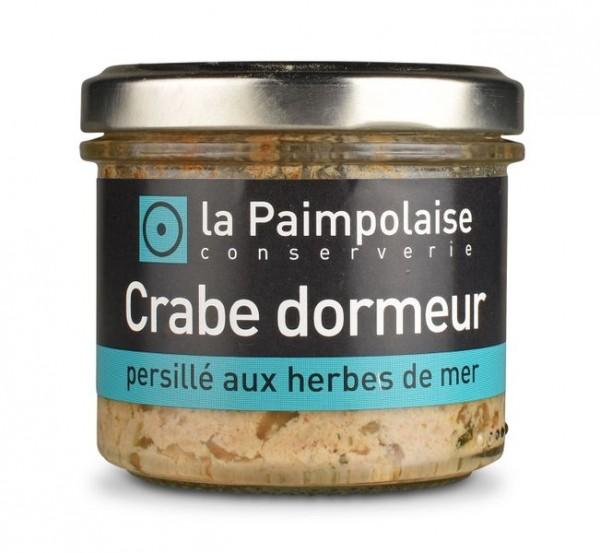 Crabe dormeur persille aux herbes de mer
