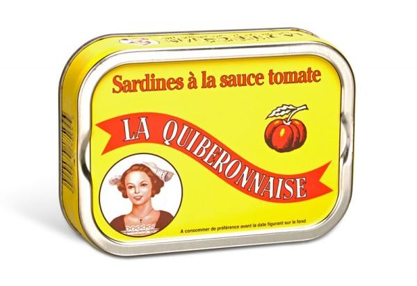 La Quiberonnaise Sardinen in Tomatensauce, Jahrgang 2016