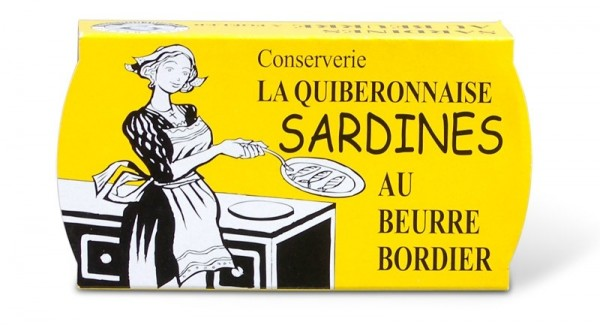 Sardinen in Bordier Butter Jahrgang 2018