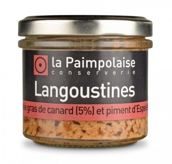 Langoustines au foie gras et piment d'Espelette