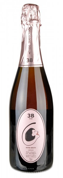 ESPUMANTE 3B ROSÉ extra brut, Filipa Patos & William Wouters - Bairrada, Portugal