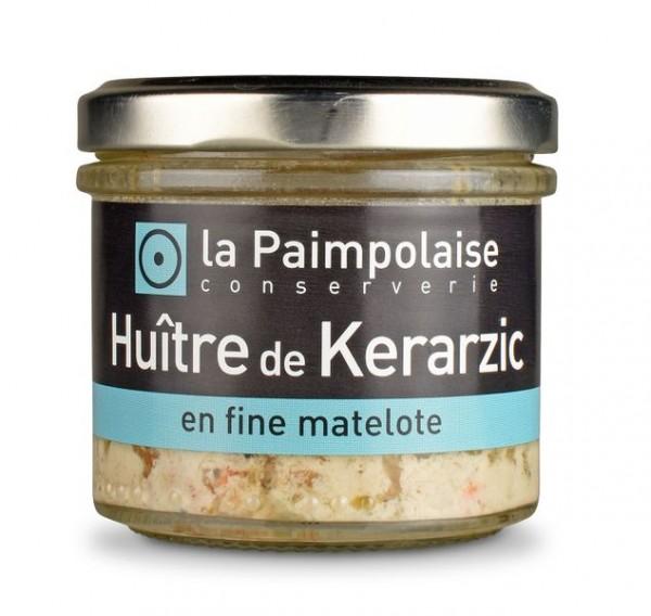 Huitres de Kerarzic en Fine Matelotte