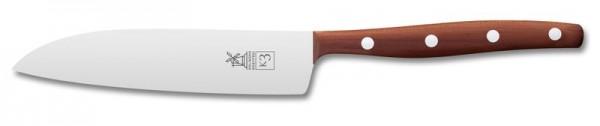 Kleines Koch- und Filiermesser K3, Pflaumenholz, 125mm Klingenlänge, rostfrei