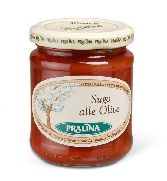Sugo alle Olive - Tomatensugo mit Oliven