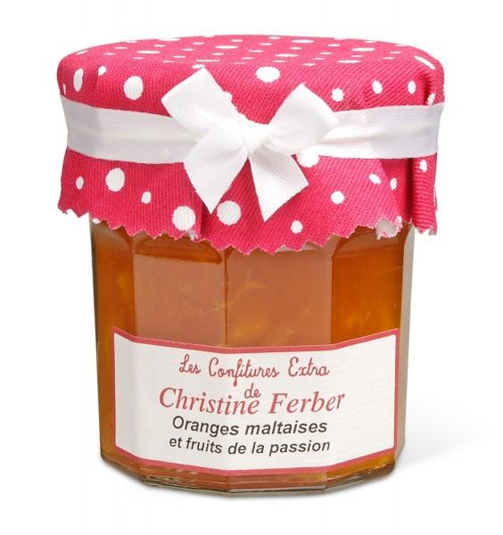 Christine Ferber Orangen Konfitüre mit Passionsfrucht