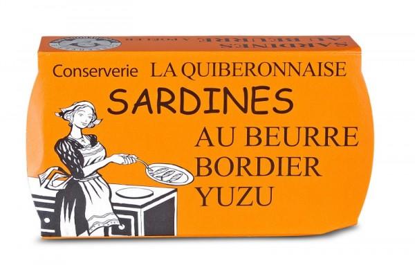 Sardinen in Bordier Butter mit Yuzu, Jahrgang 2016