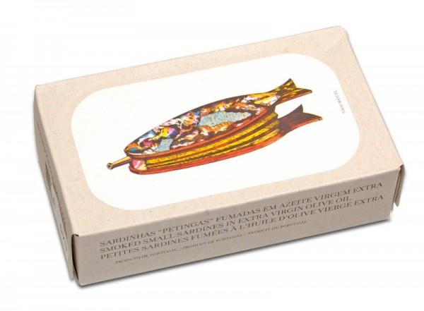Geräucherte Sardinen in Olivenöl, Jose Gourmet
