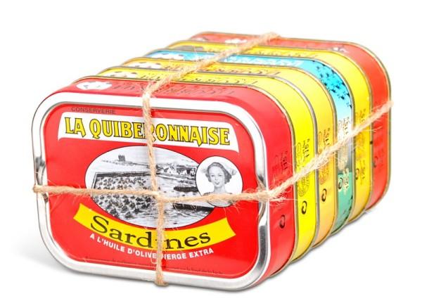 Genusspaket Jahrgangssardinen - Best of La Quiberonnaise Jahrgang 2019