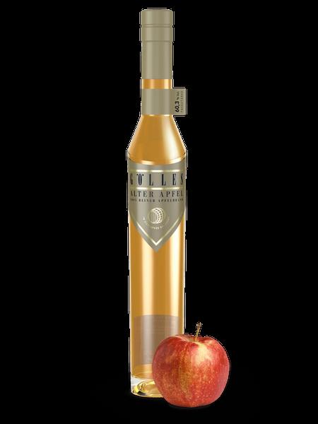 Apfelbrand, Alter Apfel, Fassstärke