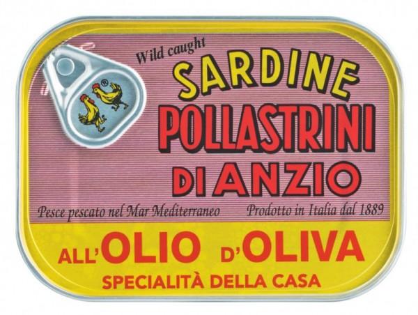 Sardine all'olio d'oliva - Sardinen in Olivenöl