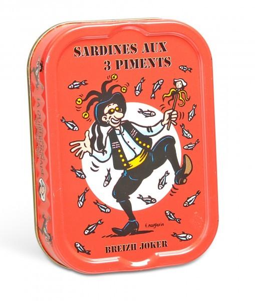La Quiberonnaise Sardinen mit Pfeffer