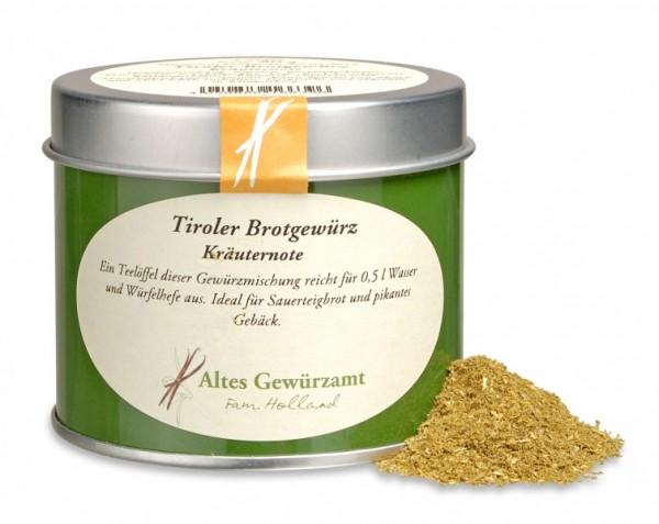 Tiroler Brotgewürz, Altes Gewürzamt